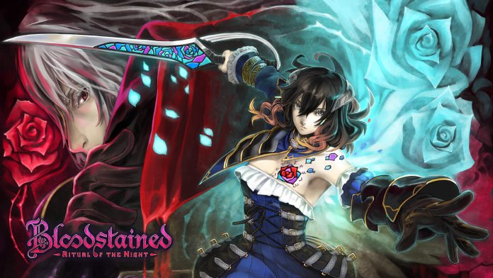 Bloodstained ritual of the night wallpaper