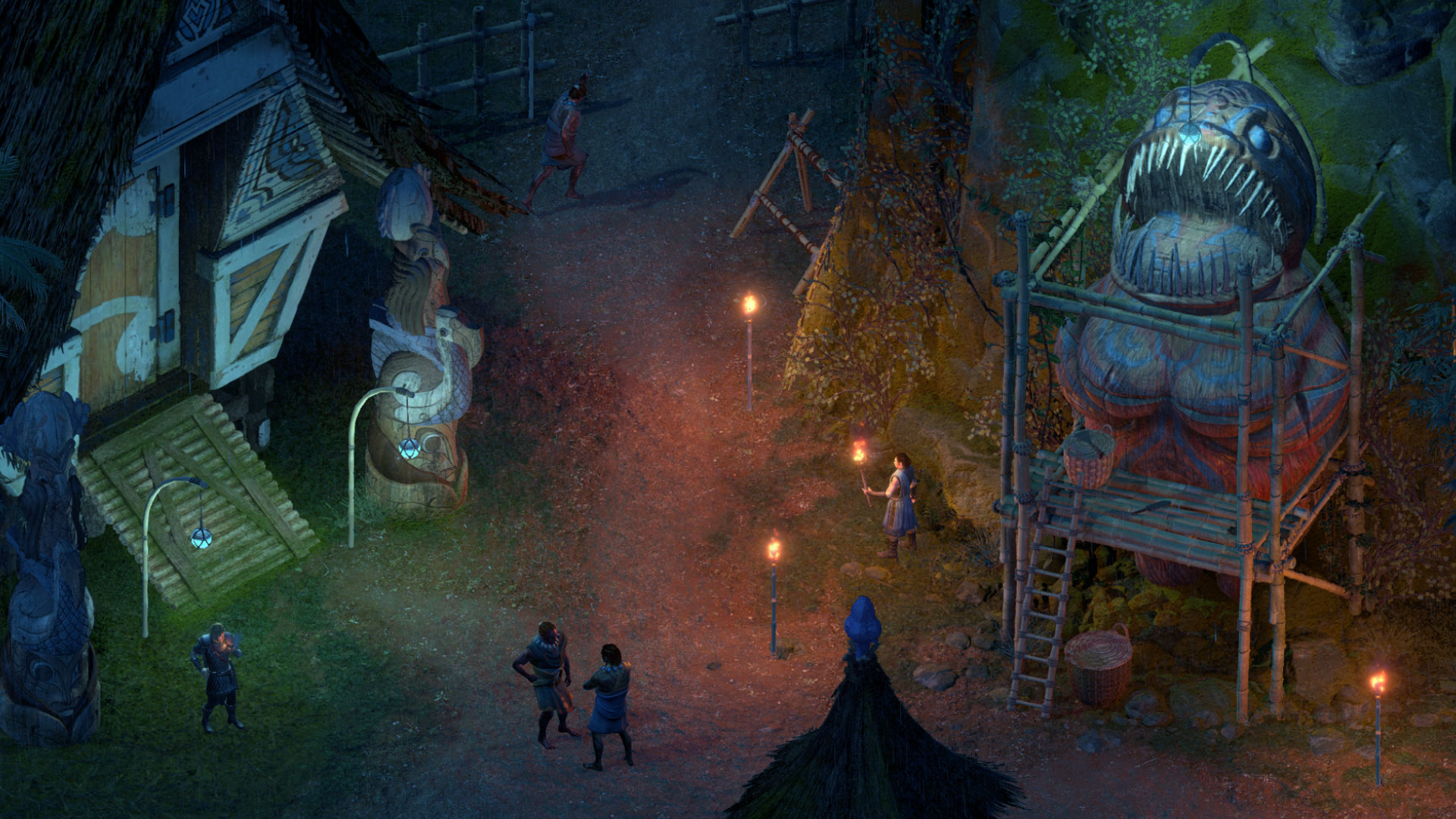 Pillars of Eternity 2: Deadfire environments