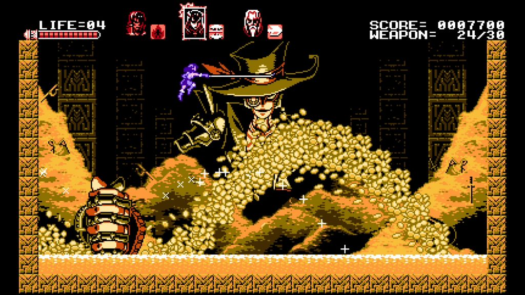 Bloodstained boss battle ביקורת