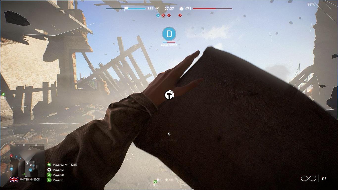 Battlefield 5 bulding mec