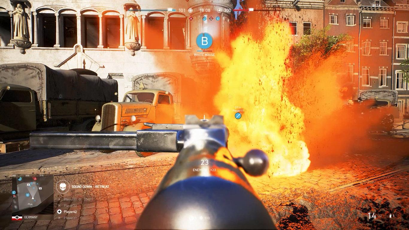 battlefield 5 explosion