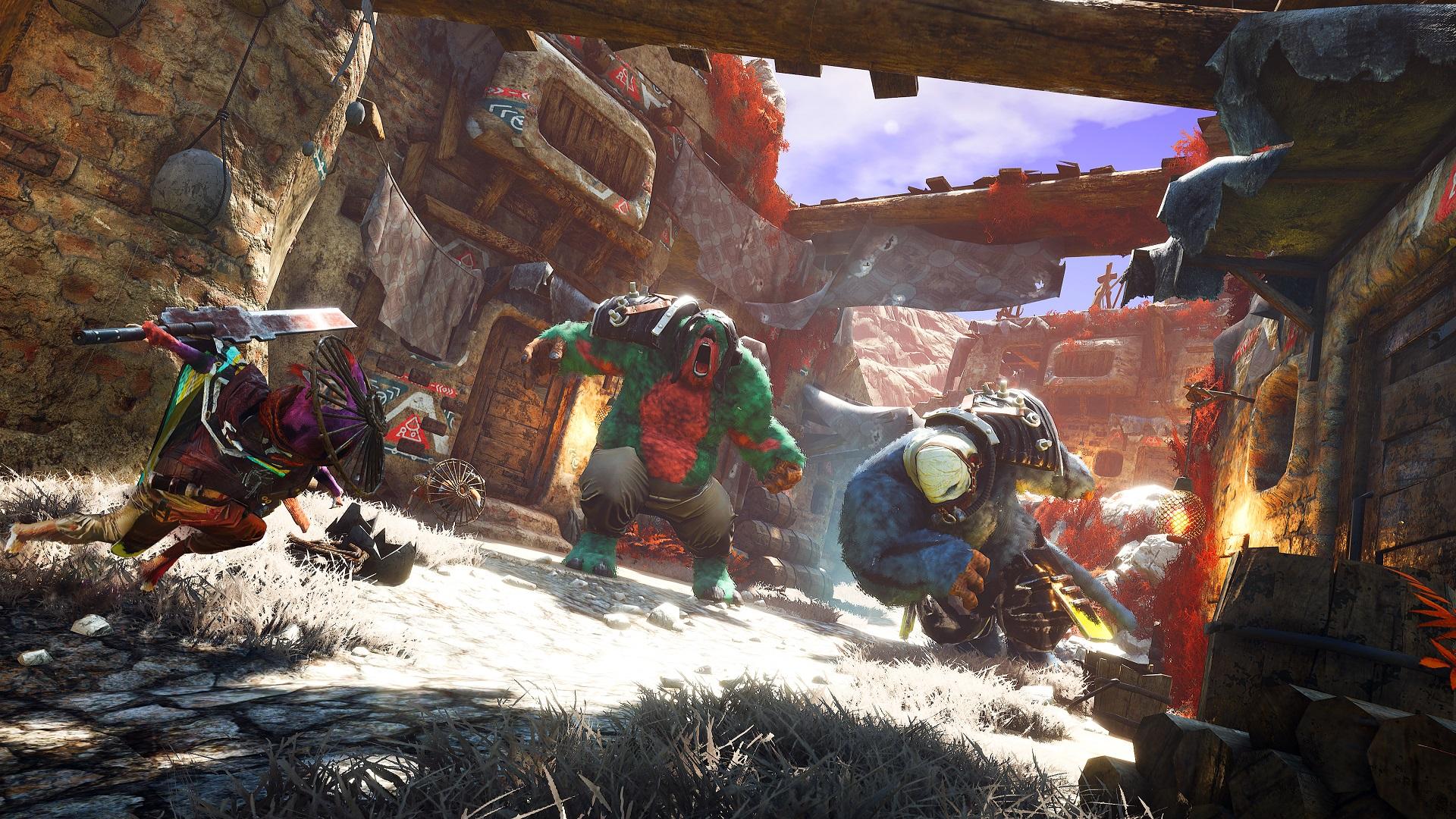 Biomutant Gamescom