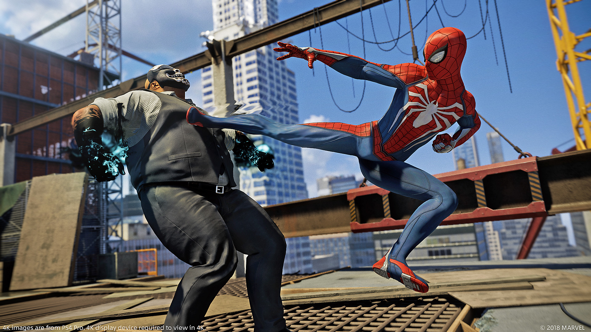 Marvel's Spider-Man combat