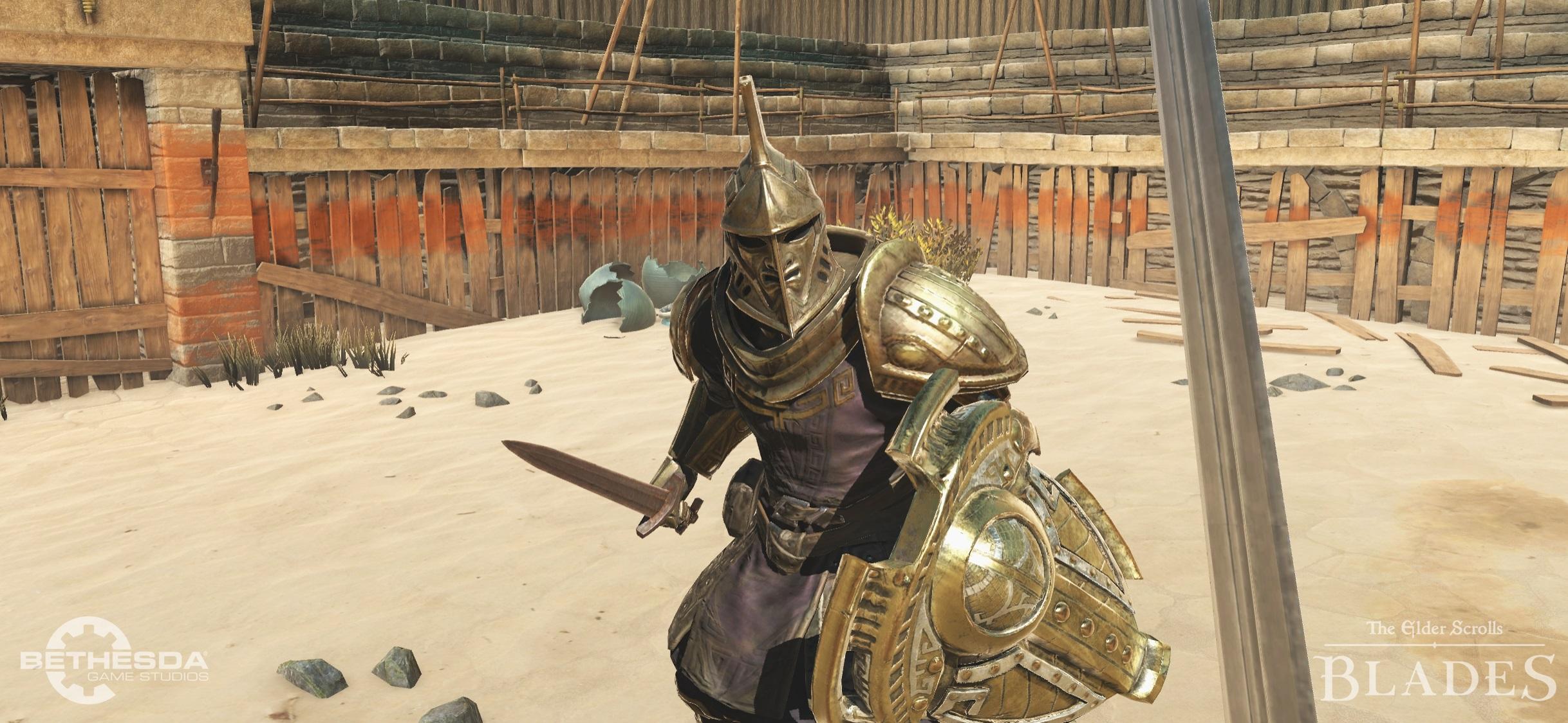 Elder Scrolls Blades combat