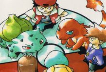 Pokemon Red Blue Green Art
