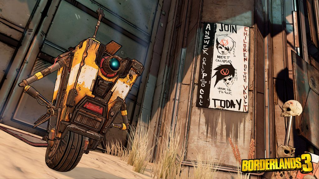 Claptrap is back in Borderlands 3!