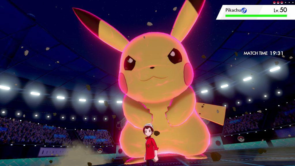 pokemon sword and shield dynamax pikachu