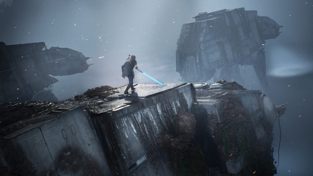 star wars jedi fallen order at at