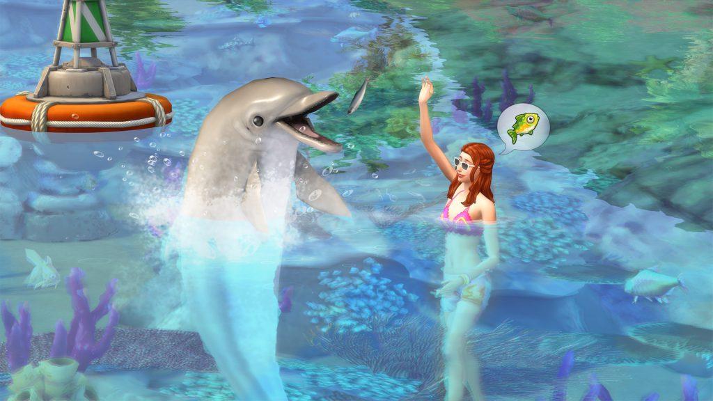 Sims 4 Island Living Dolphin