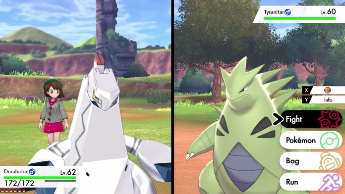 pokemon sword and shield duraludon tyranitar