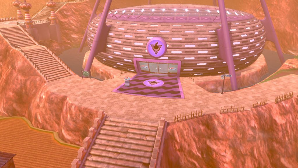 pokemon sword and shield ghost gym