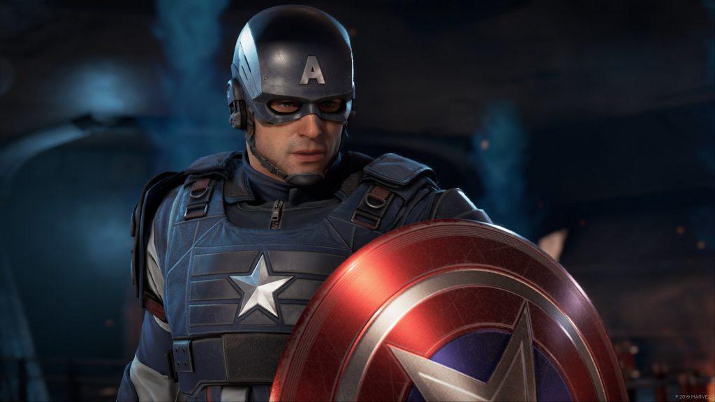 Marvels Avengers Captain America