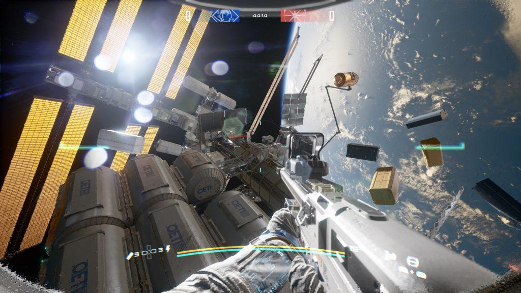 או פסולת חלל המרחפת בשלב. חלקה אגב ירחף שם בגלל הנזק האגבי שיגרום לחלקים מתחנת החלל להתפרק ולרחף בחלל