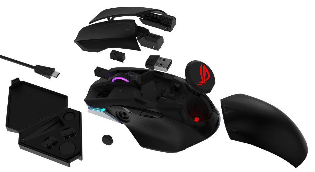 ROG Charkam Gaming Mouse parts
