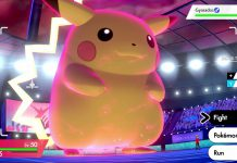 Pokemon Sword and Shield Gigantamax Pikachu