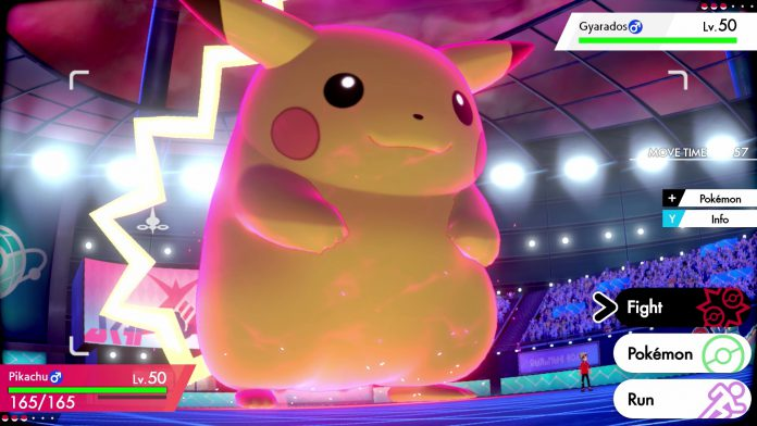 Pokemon Sword and Shield Gigantamax Pikachu