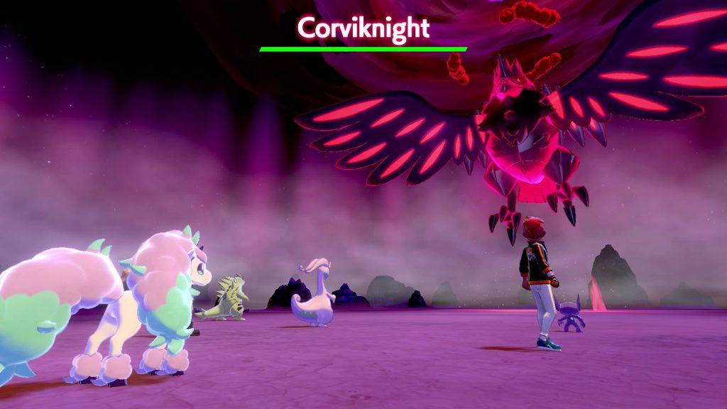 Pokemon Sword and Shield Corviknight