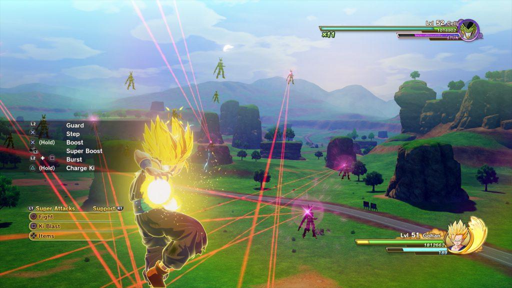 Dragon Ball Z Kakarot Combat