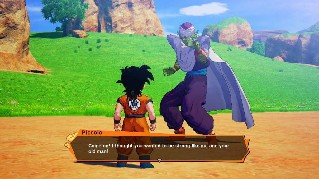 Dragon Ball Z Kakarot Story