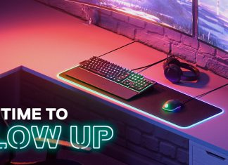 SteelSeries: GLOW UP