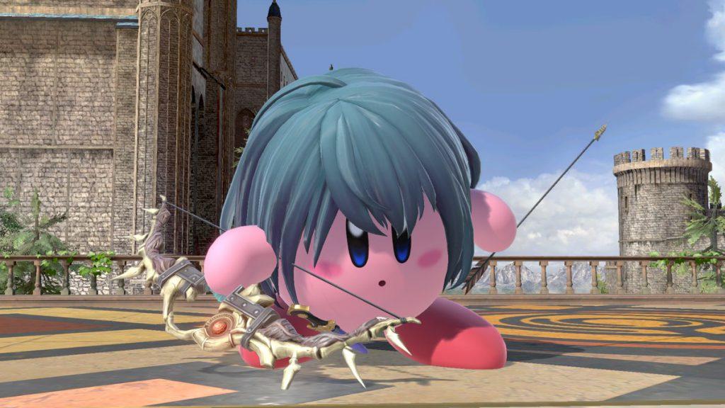 Super Smash Bros Ultimate Byleth Kirby