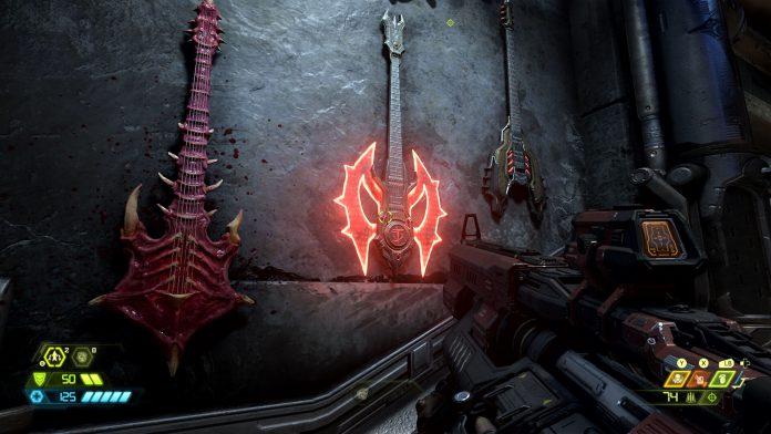 Doom Eternal guitars