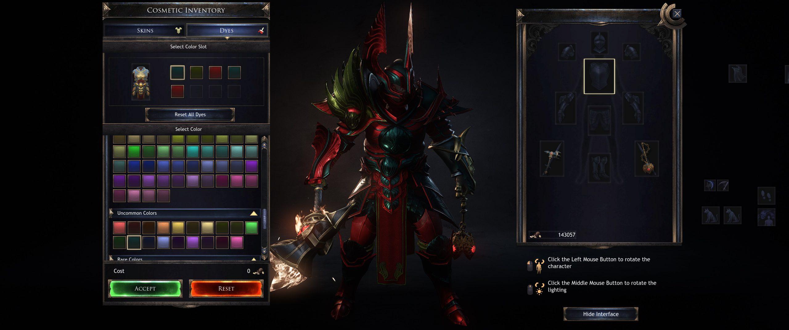 האפשרות לצבוע את החפצים בצבעים שאוספים במהלך המשחק, ברמת פירוט גבוהה מאוד.