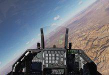 DCS world F16 cockpit