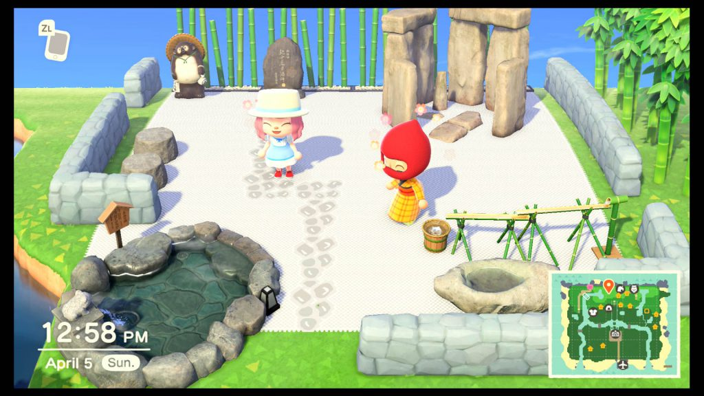 Animal Crossing New Horizons - מקדש זן