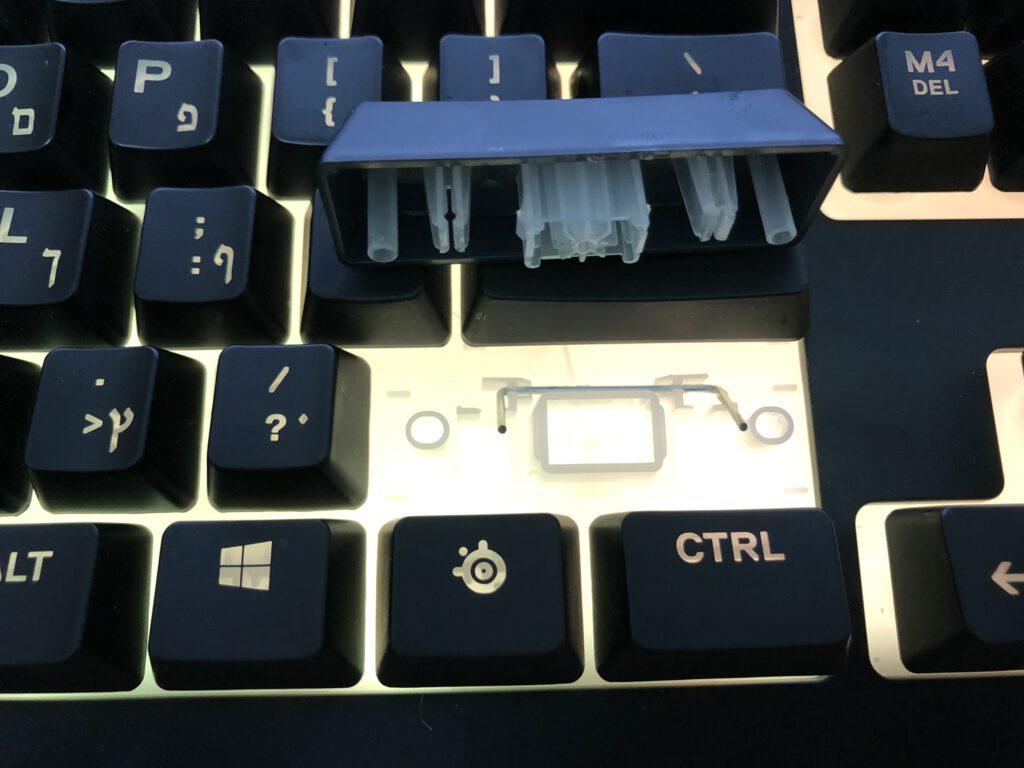 steelseries apex 3 membrane keyboard