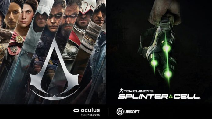 assassins creed vr splinter cell vr
