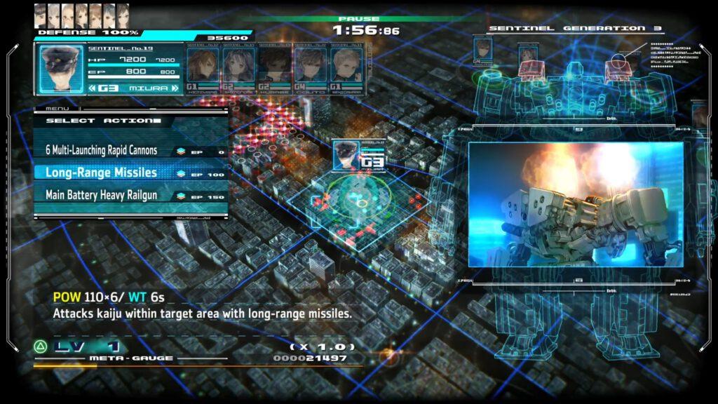 13 Sentinels Aegis Rim combat