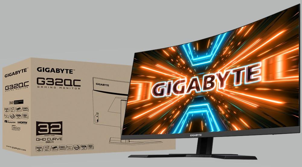 gigabyte g32qc WITH BOX