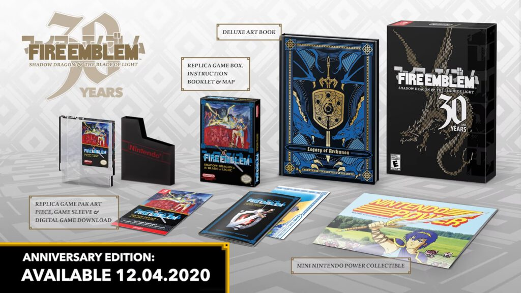 fire emblem shadow dragon collectors edition
