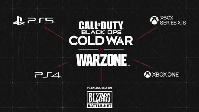 Warzone X Cold War