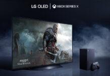 LG OLED and Xbox series X