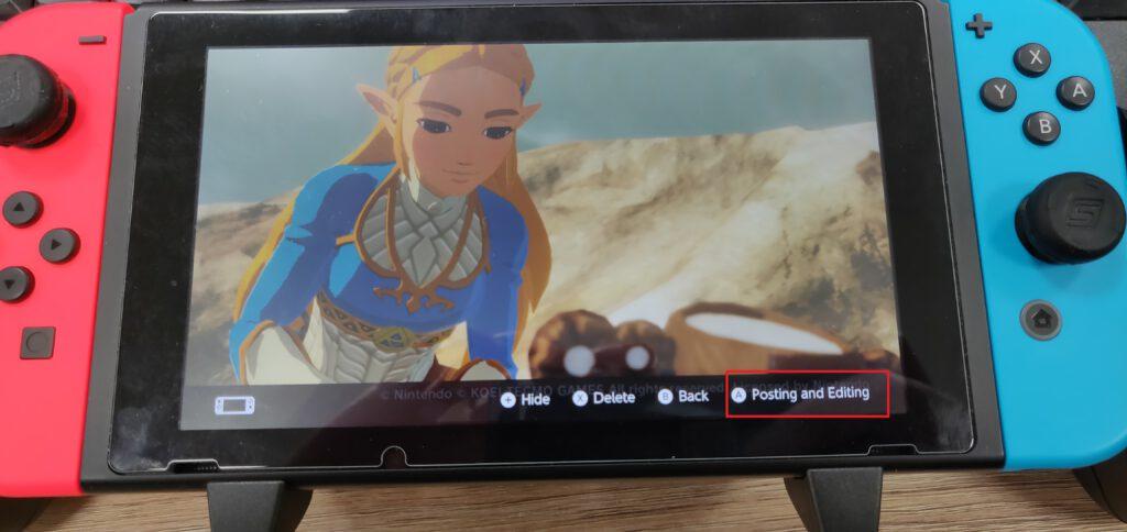 switch screenshots guide
