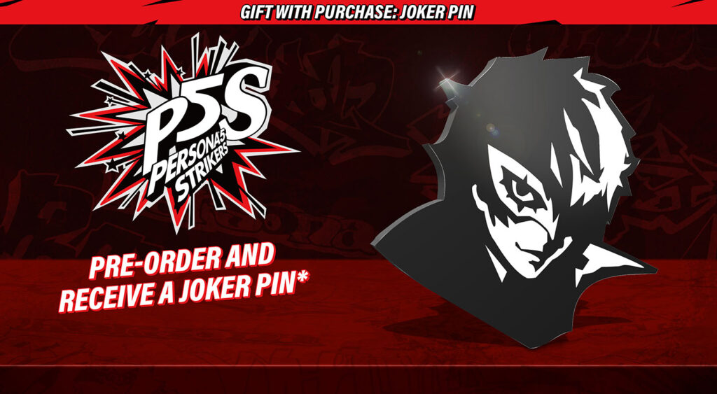 Persona 5 Strikers Pin
