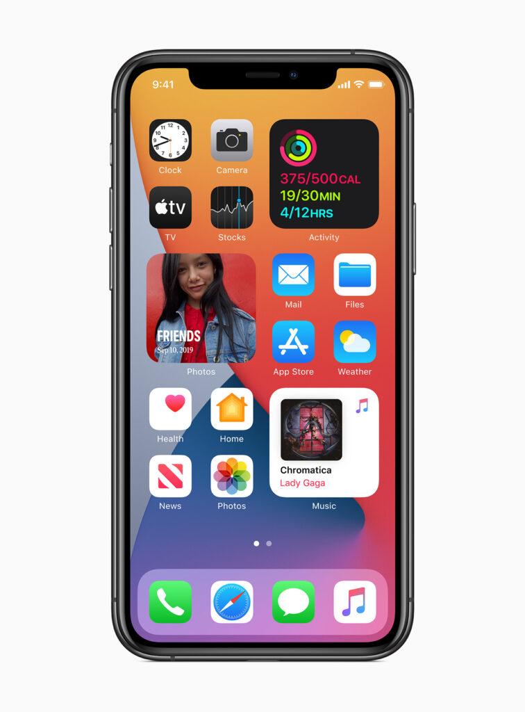 Apple iOS 14.4 Widgets