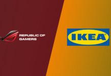 אסוס איקאה IKEA ASUS ROG