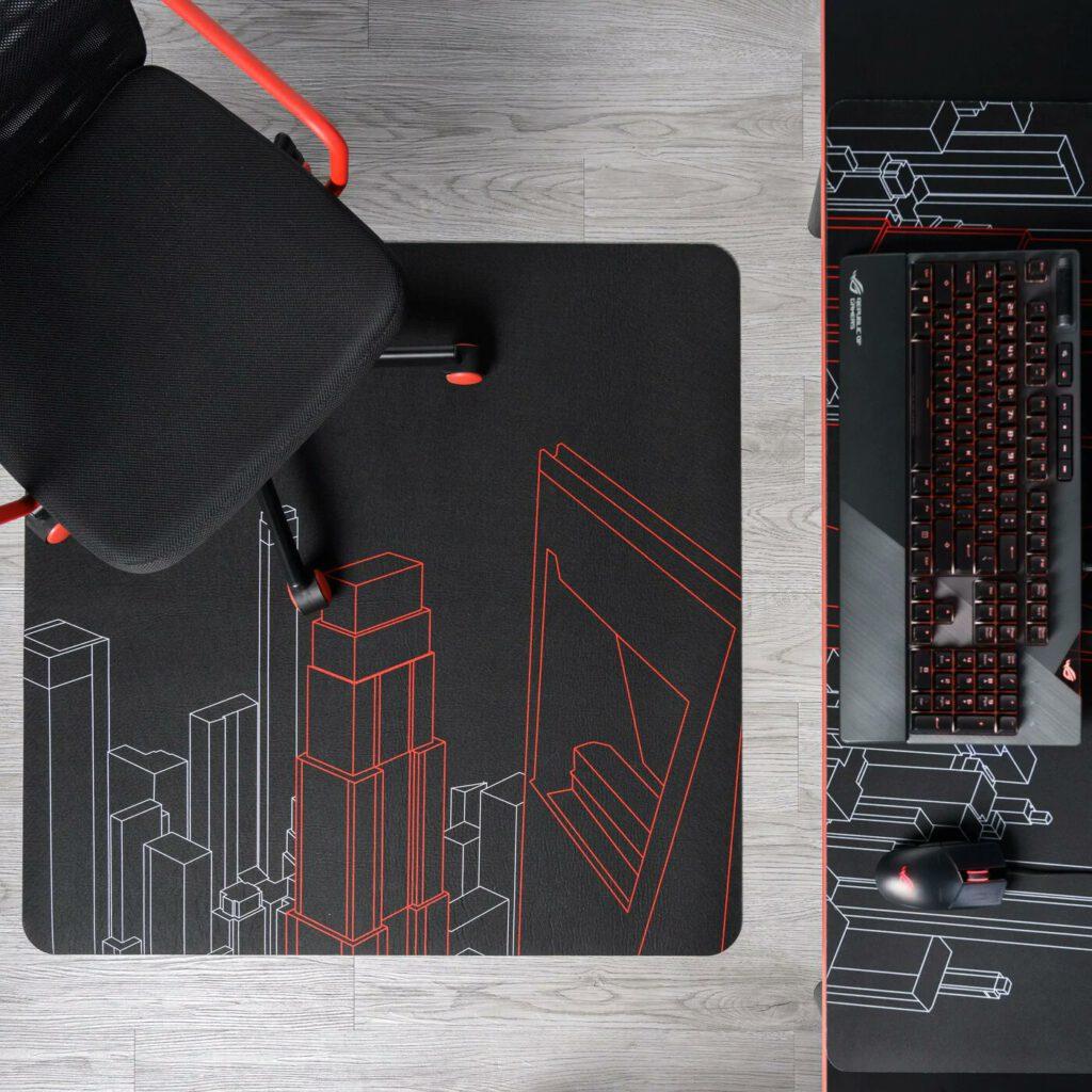 משטח עכבר משטח כסא אסוס איקאה IKEA ASUS ROG