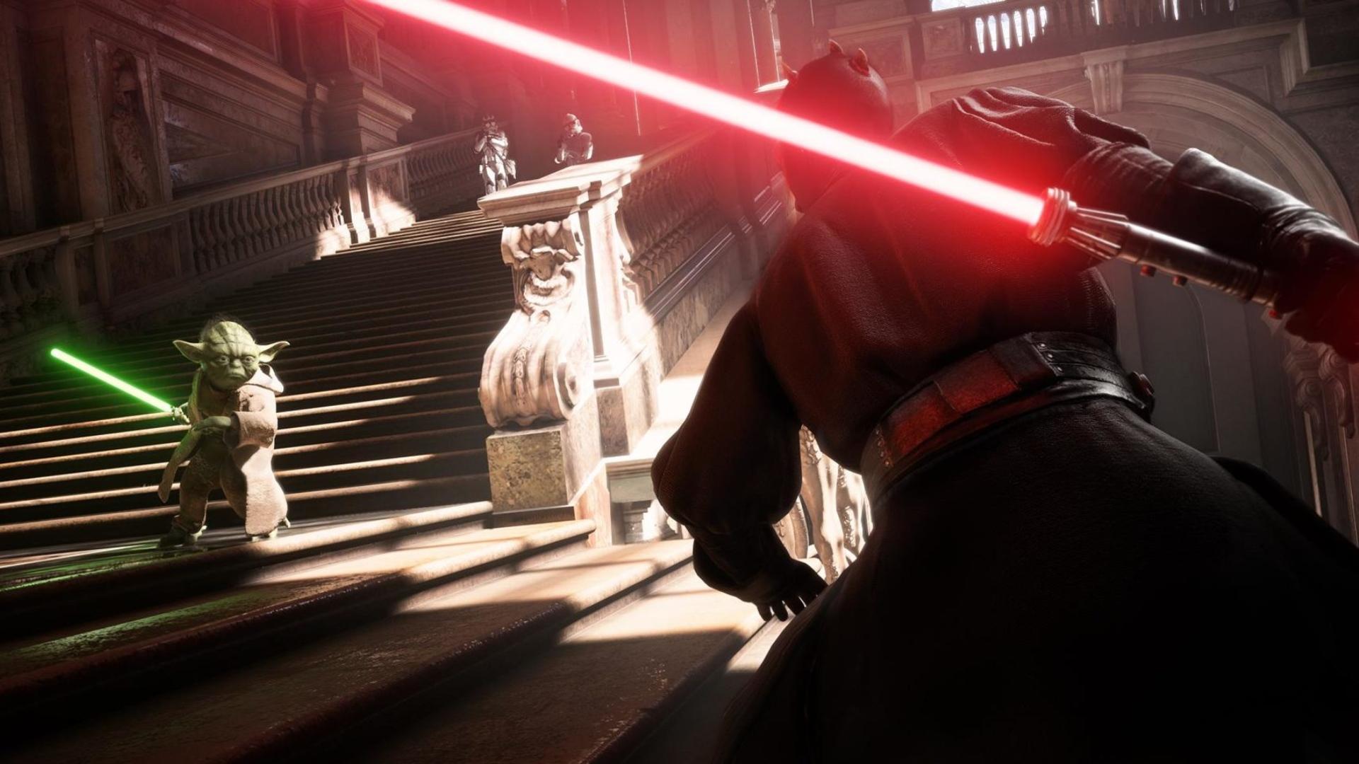 Star Wars action
