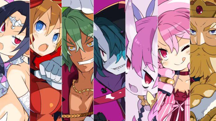 digaea 6 characters