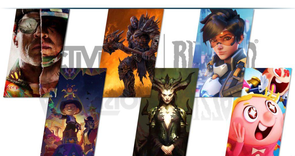 Activision Blizzard Diablo 4 Overwatch 2