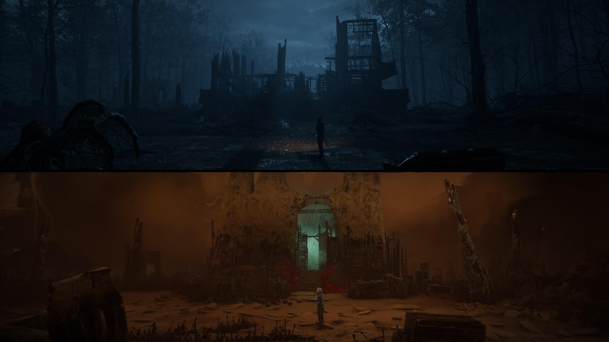The Medium haunted hotel
