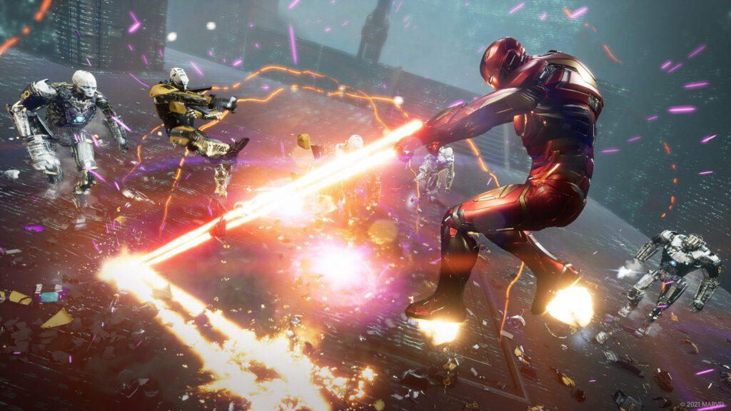 Marvel's Avengers 1.5.0 Custom Harm Room