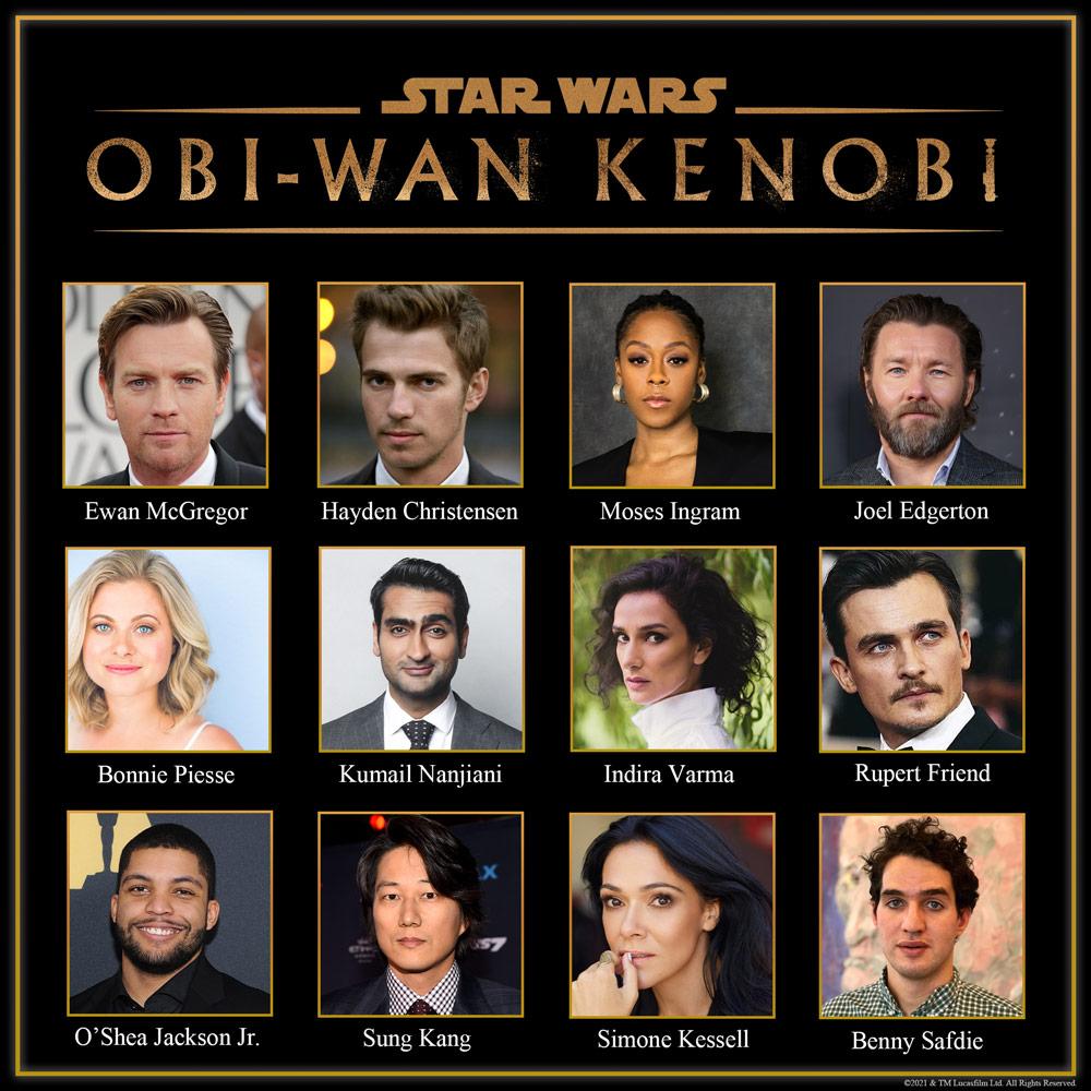 Obi-Wan Kenobi official cast