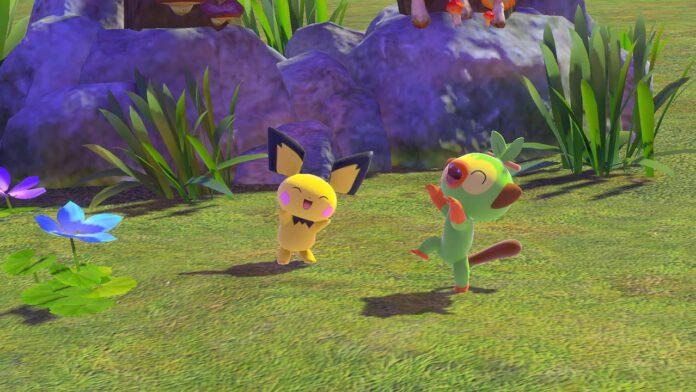 new pokemon snap pichu