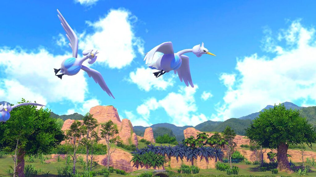 new pokemon snap swanna