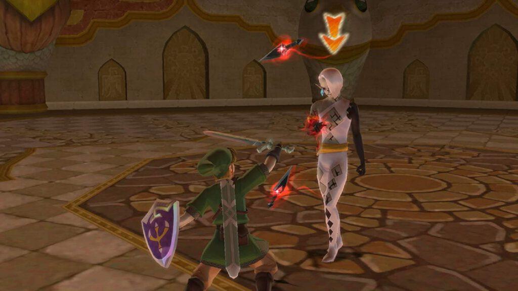 skyward sword boss